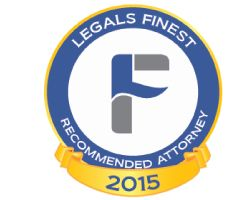 LegalsFinest Recommended Attorney Logo 2015 6e3bfd1adadaf24c4c3a1e0cf3653f84