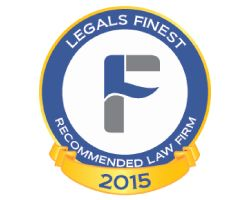 LegalsFinest Recommended Law Firm Logo 2015 Fd2682ae61f12fc5c90cc417d3935527